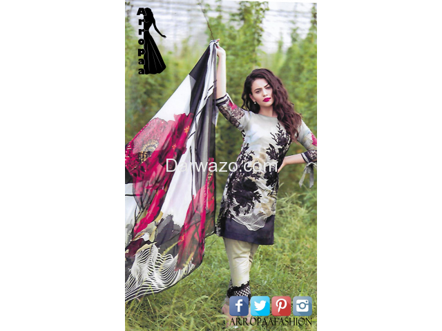Black Rose AEN Linen Dress In Lahore - 1