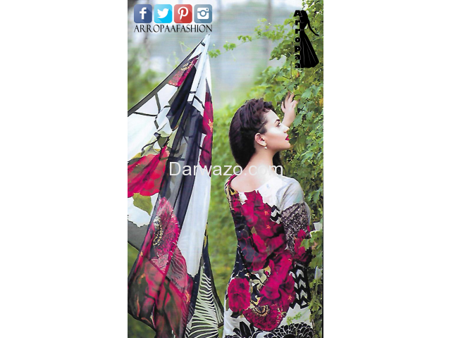 Black Rose AEN Linen Dress In Lahore - 2