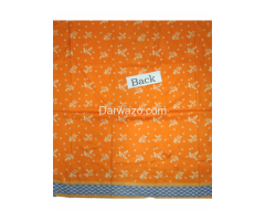 Khaadi Orange Linen Dress In Pakistan - Image 3