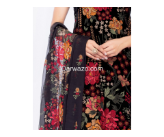 Bareeze Petal Perfect Linen Dress In Lahore - Image 2