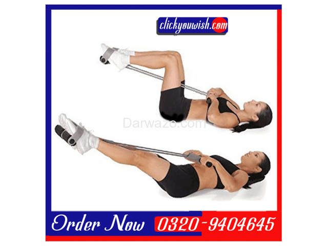 Tummy Trimmer & Exercise Bar Iron Gym Four Pull Up/Chin Up - 1