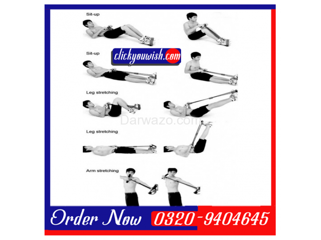 Tummy Trimmer & Exercise Bar Iron Gym Four Pull Up/Chin Up - 2