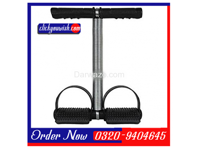 Tummy Trimmer & Exercise Bar Iron Gym Four Pull Up/Chin Up - 3