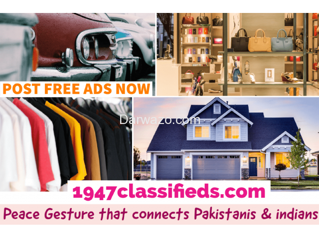 Post Free Classified Ads in Pakistan and India - 5